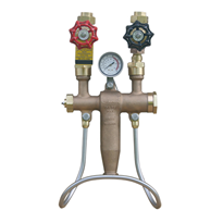 Bronze Wall-Mounted Mixing Unit | M-5000TG