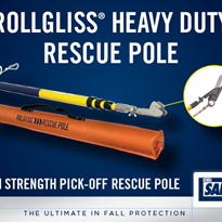 Rollgliss® Heavy Duty Rescue Pole