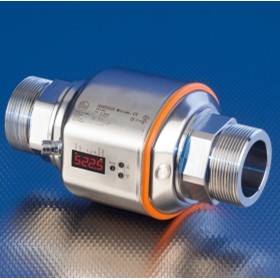 Compact flow meter for accurate measurement of liquids