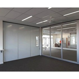 Glass Partition & Wall I Acoustic Slider Glasswall 5800