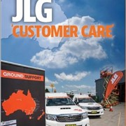 JLG 'customer care' - the name says it all