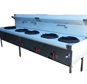 Wok Cooking Table
