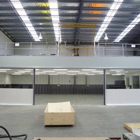 Factory Partitioning & Screening System | Flexwall