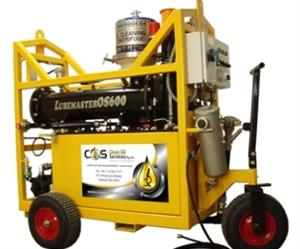 "The Lubemaster is an oil cleaning unit allowing oil to be kept in its ""perfect original state""."