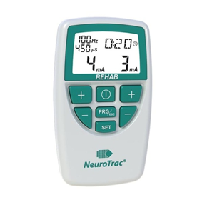 "Digital Dual Channel TENS & EMS Unit | NeuroTracâ""¢ Rehab"