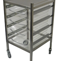 Perspex Dressing Trolley | SS13VP