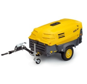 Towable Diesel Compressor | Atlas Copco 130 cfm