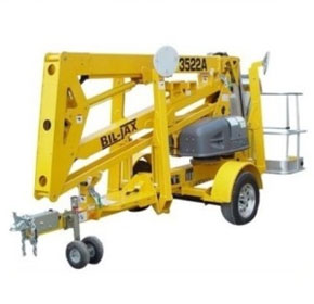 Trailer Mounted Boom Lift with Self Drive | Haulotte 133/70A