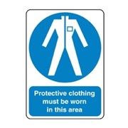Protective Clothing Sign | MAN 007
