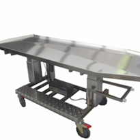 Height Adjustable Autopsy Trolley | SP575.3