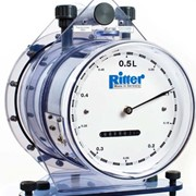 Drum-type Gas Flow Meters | Ritter | TG-Series (Wet-Type)