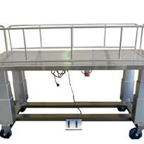 Height Adjustable Bariatric Concealment Trolley | SP575.4