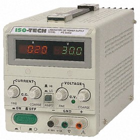 Digital Bench Power Supply | 160W 1 Output  0 to 30V, 0 to 3A