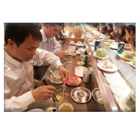 Steamboat Sushi Food Conveyor | MODU Shabu-Shabu