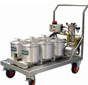 Large Mobile Oil Filtration System | 6S1500E