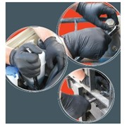 Disposable Safety Gloves | Black Shield GNB218