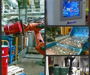 Robotics, conveying, automatic guided vehicles, multi-axis conveyors and an MES - key elements in the RA Mint project