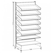 Pharmashelve Plus Bundle with Pull Out Drawers