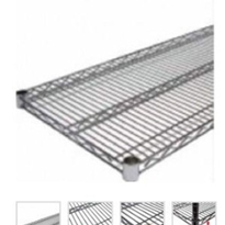 MediMesh Wire Shelves | Nickel/Chrome & Stainless Steel