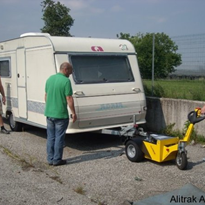 Battery Electric Caravan Trailer Mover | Alitrak Australia TT900 Plus
