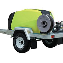 1100L Single Axle PantherPatrol Trailer | TTi