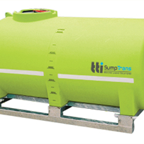 TransSump 6000L | Fully Drainable Pin Mount Spray Tank