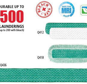 Microfibre Dust Pads | Hygen | Rubbermaid