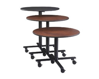 Three heights of SICO SOCIALIZER® Tables