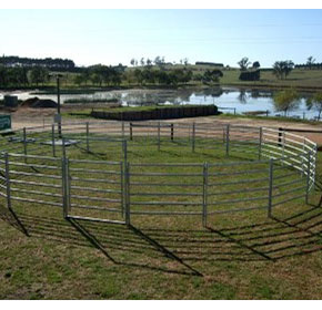 Portable Horse Yard | Norton Gates