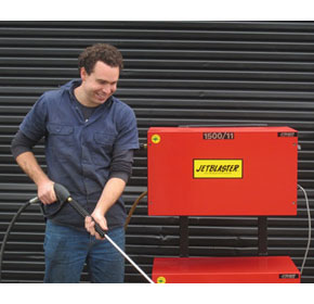 Stationary Cold Water Pressure Washer