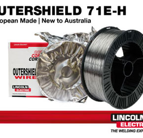 Outershield 71E-H Flux Cored Wire