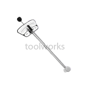 "Beam Torque Wrench | T&E Tools 7290 1/4""Square Drive 60 In/lb"