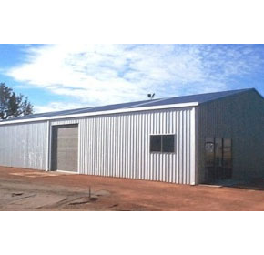 Industrial & Commercial Sheds | West Steel Sheds