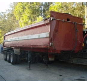 Used Tipper-Trailer | Hamelex-White HXST