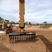 Push Stick Rake |  Embrey |  Excavators
