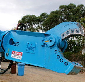 EDSR 360' Rotary Demolition Shear