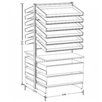 Pharmashelve Plus Bundle | Deep Drawers
