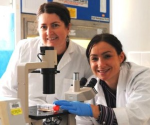 Associate Professor Catherine Abbott (left) and Dr Claire Wilson.