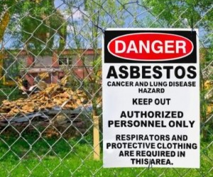 Although asbestos is now banned, the disease is expected to peak to about 900 annual cases in Australia by 2020. Image courtesy of Shutterstock.