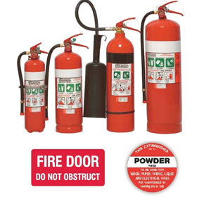 Signet's Fire Extinguishers and Fire Products