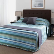 Printed Fitted Bedspread | Emporium