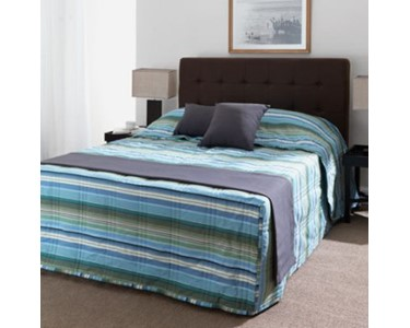 Blue Emporium Printed Fitted Bedspread