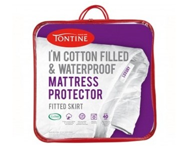 Cotton Filled & Waterproof Mattress Protector | Tontine