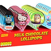 Single Milk Chocolate Lollies