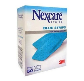 3M Blue Diamond Shaped Comfort Strips | Nexcare