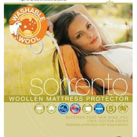 Woollen Mattress Protector | Sorrento
