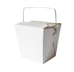 Food Pails with Wire Handles