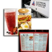 Photographic Menu Signs | Vision Signage