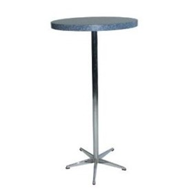 Bar Table Round Top 5 Star Base