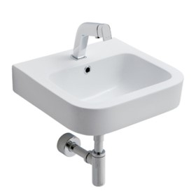 Soft Wall Basin with Popup Waste | Adesso Urban